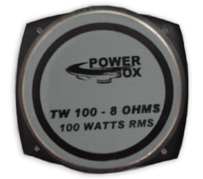 super tweeter  tw100  8ohms 100watts rms