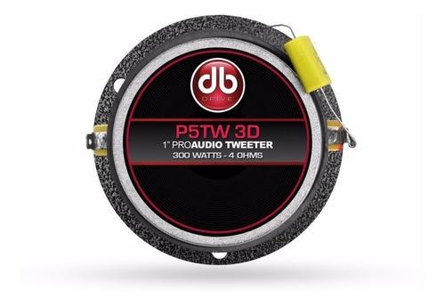 super tweeters db drive p5tw3d 300 watss  el par