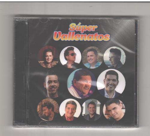 super vallenatos  2017 cd