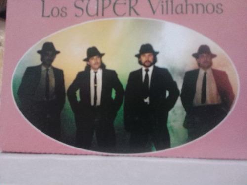 super villanos  vete (casete original)