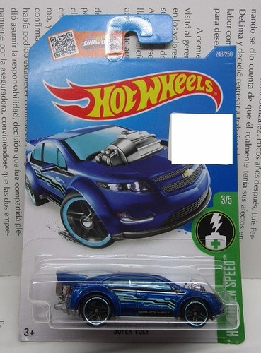 super volt chevrolet coleccion hot wheels escala 1/64