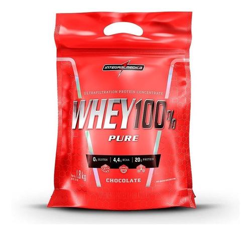 super whey 100% pure (1,8kg) integralmedica
