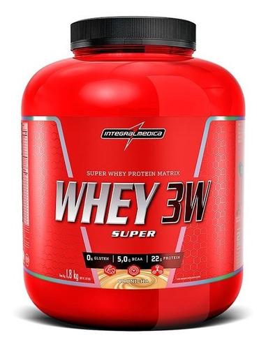 super whey 3w (1,8kg) integralmedica
