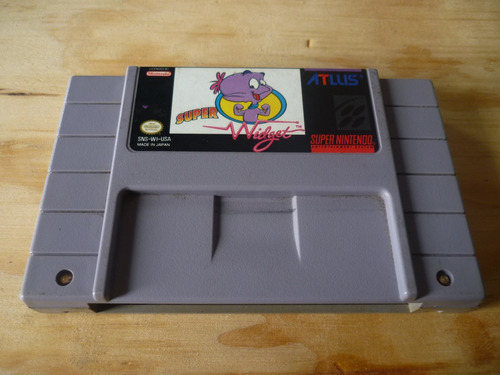 super widget snes super nintendo