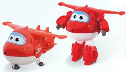super wings: jett transformable y articulado - minijuegosnet