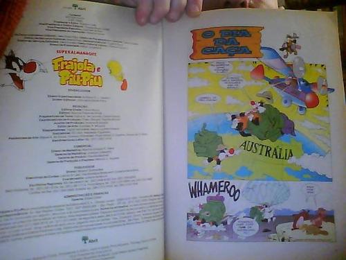 superalmanaque frajola e piu-piu nº 14 ano 1999 raro 96 pág