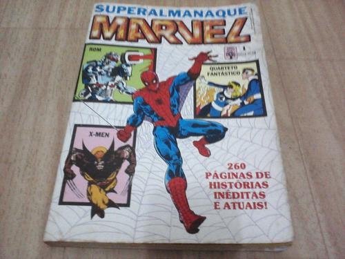 superalmanaque marvel nº 01 - dezembro de 1989