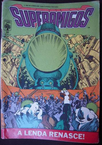 superamigos nº 30 editora abril ano 1987
