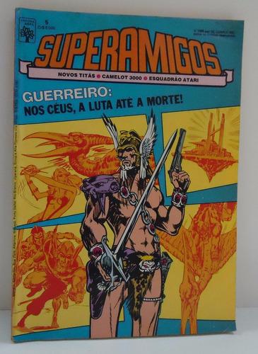superamigos nº5 1985 - ed.abril - by trekus vintage