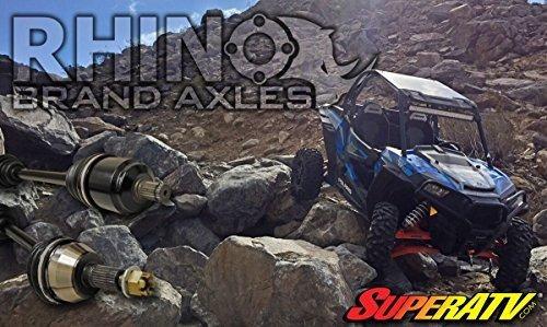 2016+ SuperATV Rhino Brand Heavy Duty FRONT Axle for Polaris General 4