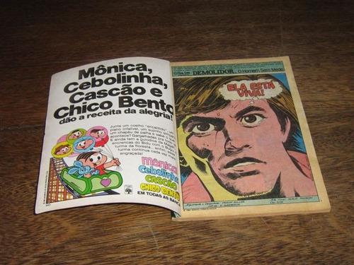 superaventuras marvel nº 24 junho /1984 editora abril