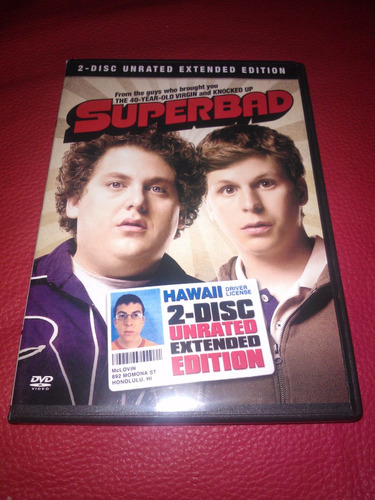 superbad / supercool / seth rogen / 2 disc unrated extended