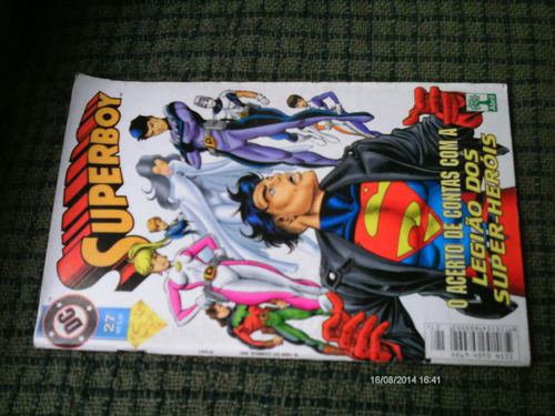 superboy n. 27 (2*serie) - abril jovem (formatinho)