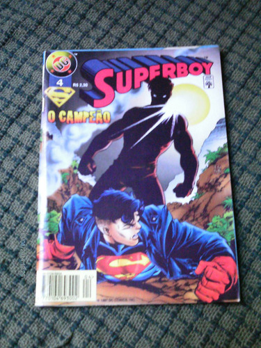 superboy n.4 (2* serie) - abril jovem