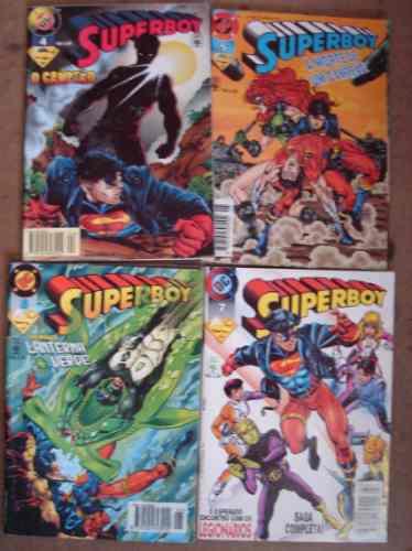 superboy nºs 0 ao 25 ed. abril