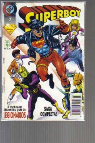 superboy numero 7 - editora abril