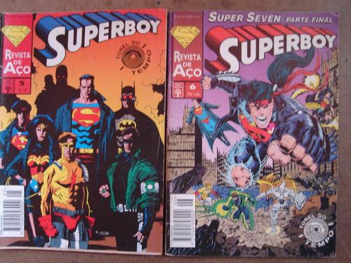 superboy revista de aço abril nºs 1 ao 21 ed. abril
