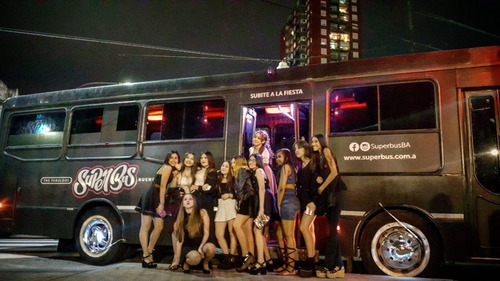 superbus fiestas despedidas cumpleaños no trencito partybus