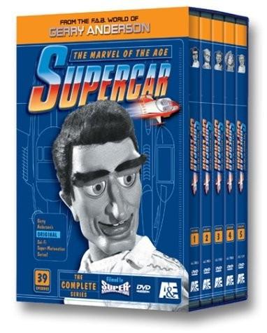 supercar coleccion completa serie tv boxset en dvd