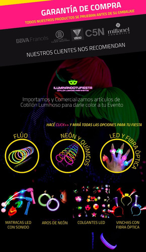 supercombo luminoso vip 120 invit exigentes + regalo eventos