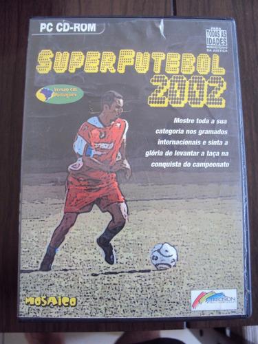 superfutebol 2002 - jogo para computador