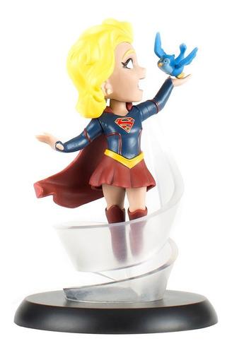 supergirl tv series - q-fig mini estatua - qmx - robot negro