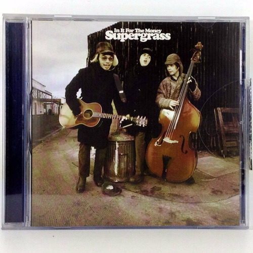 supergrass - in it for the money cd elpusty