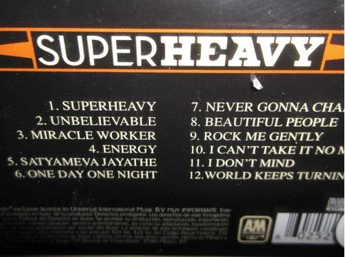 superheavy mick jagger damian marley cd sellado