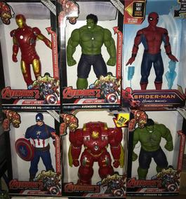Superheroes Capitán Spiderman 40 Cmts Hulk Batman America gIYybvm6f7