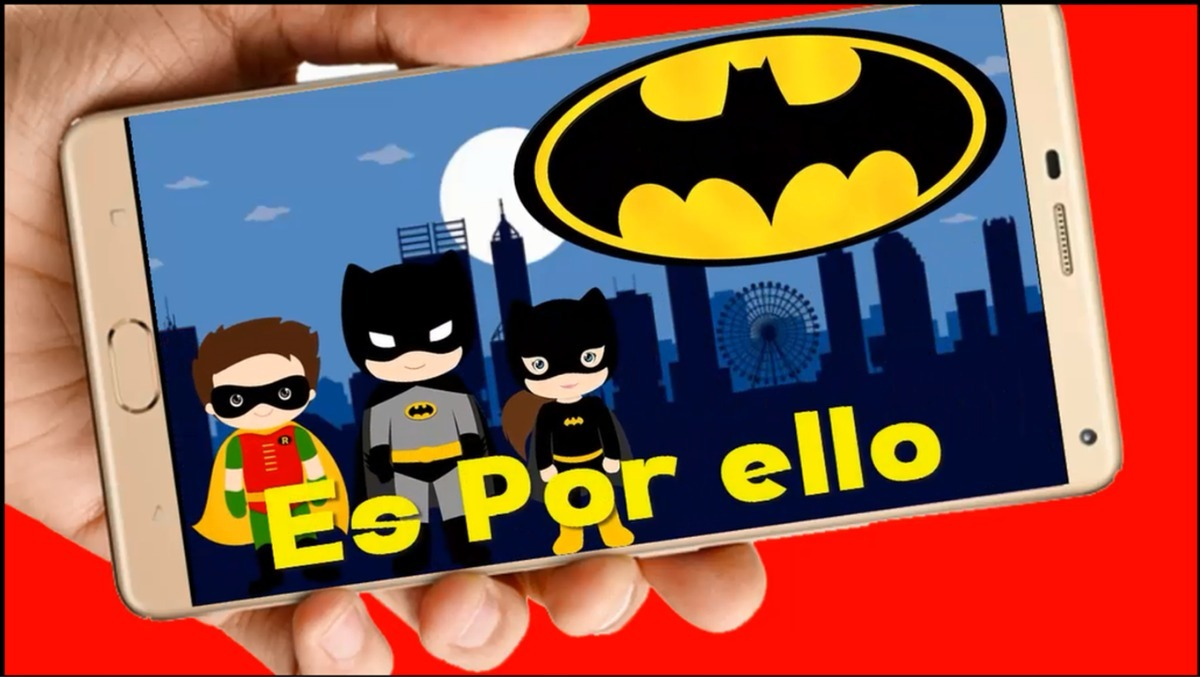 Superheroes Tarjeta Invitación Digital Cumpleaños Vídeo