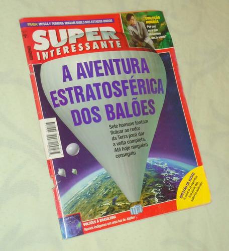 superinteressante nº 123 a aventura estratosférica dos balõe