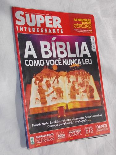 superinteressante nº 305 a bíblia como você nunca leu