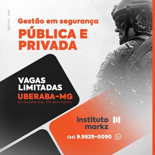 superior sequencial de gestão em segurança pública e privada