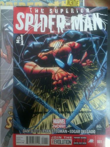 superior spiderman 1 firmado slott olazaba delgado