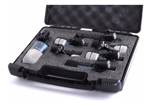 superlux - kit de 7 microfones drk b5c2 mkii c/ nf