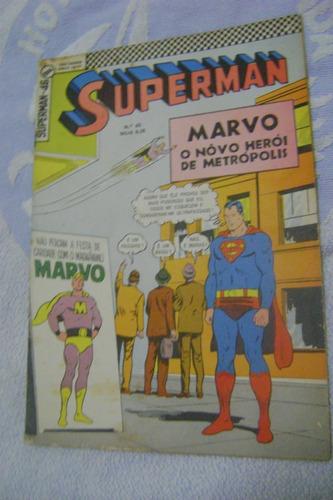 supermam n°46 fev 68 ebal raro e ótimo!