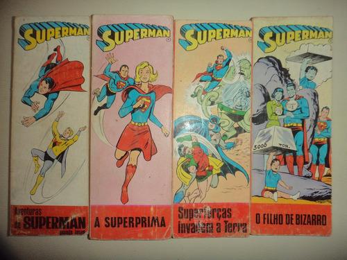 superman 1 2 3 4 completa editora bruguera 1968 otimos