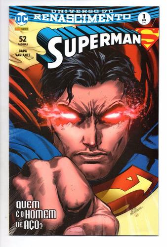 superman 1 3ª serie renascimento variant bonellihq cx361 l17