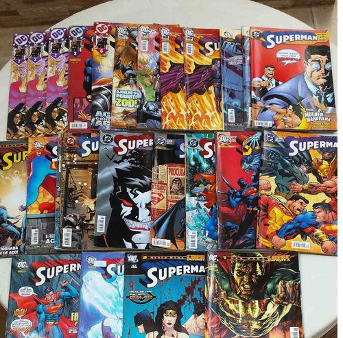 superman - 1º série - editora panini - vários números
