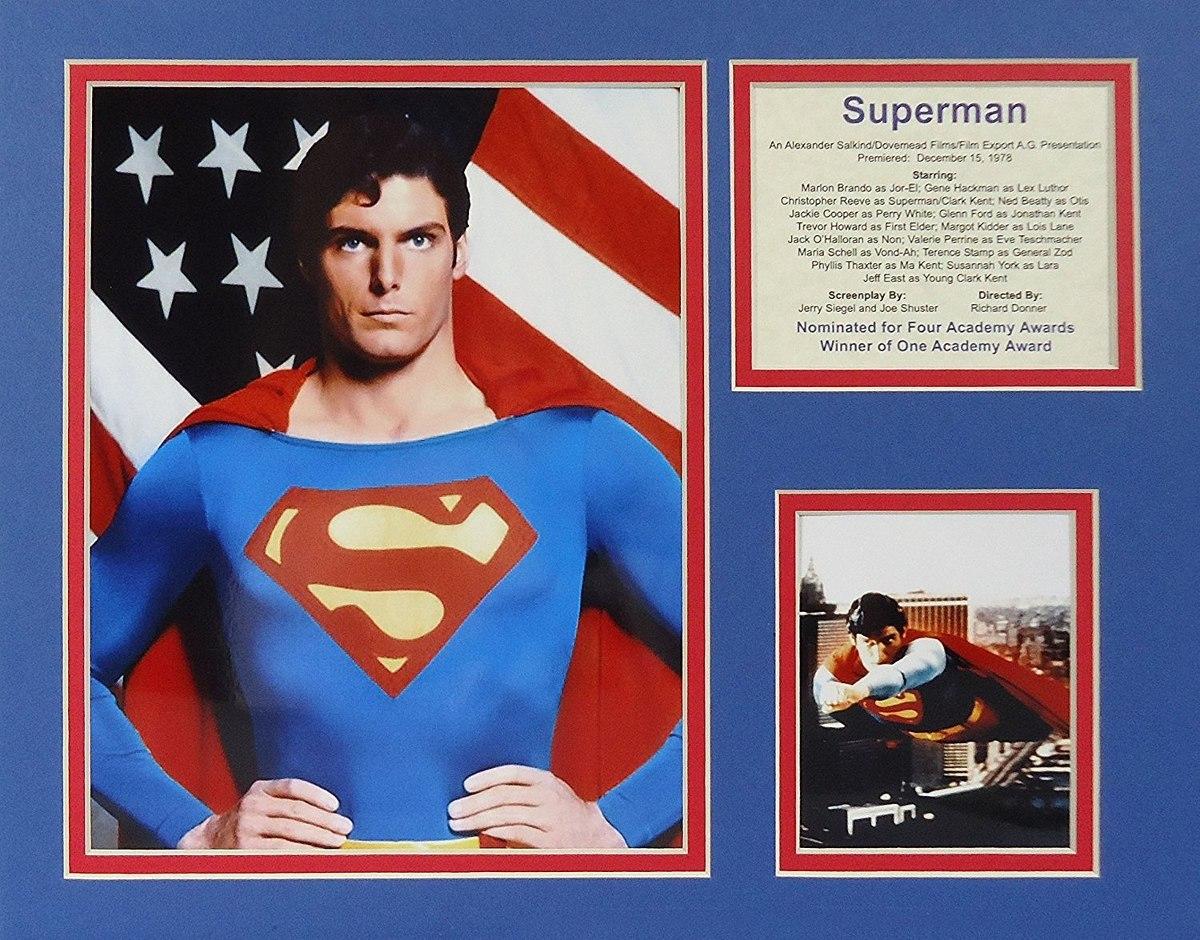 Superman 11 X 14 Collage De Fotos Enmarcadas Sin Marco ...