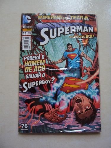 superman # 15 - os novos 52 - dc comics - panini