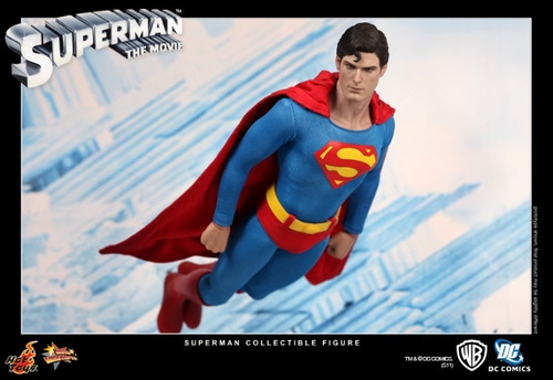 superman 1978 christopher reeve super homem 1/6 hot toys