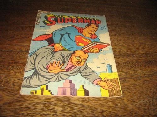 superman 3ª série nº 18  outubro/1965 editora ebal original