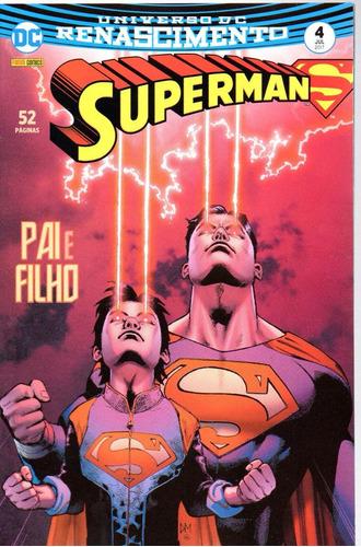 superman 4 3ª serie renascimento panini bonellihq cx465 h17