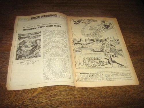 superman 4ª série nº 44 abril/1976 editora ebal original