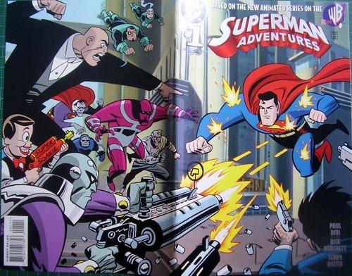 superman adventures numero 1 original americano