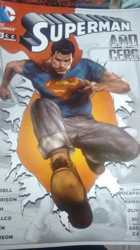 superman año cero dc comics original ecc editorial