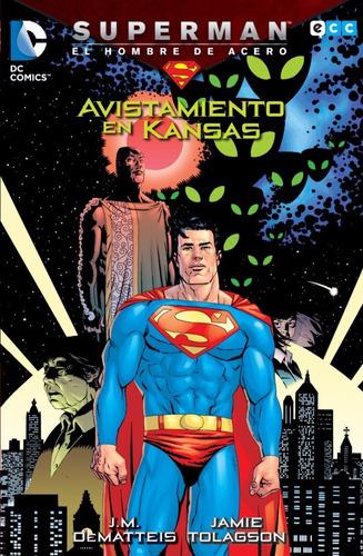 superman avistamiento en kansas libro tapa blanda español