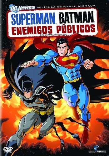 superman batman enemigos publicos dc comics pelicula dvd