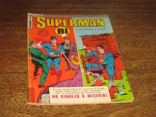 superman bi nº 16  setembro /1967 editora ebal original